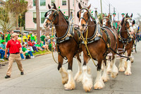 Savannah St. Patrick's Day 2016 Parade Highlights